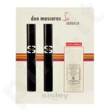 Sisley Duo blakstienų tušass So Intense rinkinys moterims, (2 x 7,5ml So Intense blakstienų tušas 1 + 30ml Eau Efficace Gentle makiažo valiklis)   (1 Deep Black),