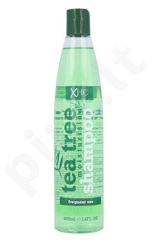 Xpel Hair Care Tea Tree Moisturising šampūnas, kosmetika moterims, 400ml