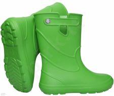 Žali, lengvi guminiai batai 30-37 d.CAMMINARE JUNIOR