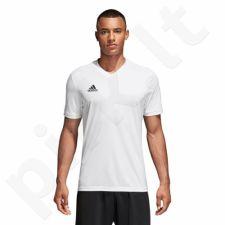 Marškinėliai futbolui adidas Tabela 18 Junior CE8938