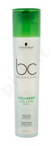 Schwarzkopf BC Bonacure, Collagen Volume Boost Micellar, šampūnas moterims, 250ml