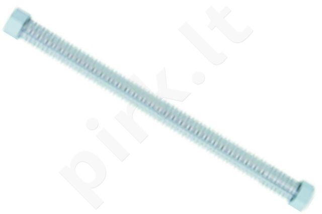 Vamzdelis gofruotas nerūd. plieno E007-3 sriegis F1/2 v./v. 120cm