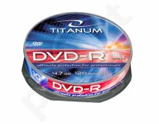 DVD-R TITANUM [ cake box 10 | 4.7GB | 8x ]