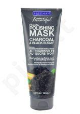 Freeman Facial Polishing Mask Charcoal&Black Sugar, kosmetika moterims, 150ml