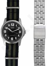 Laikrodis CASIO SPECIAL MTP-1260PD-1 SET 2 STRAPS  MTP-1260PD-1_NATO