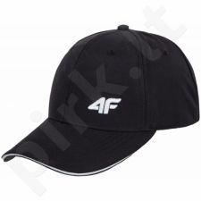Kepurė  su snapeliu 4f M H4L17-CAM001 juoda