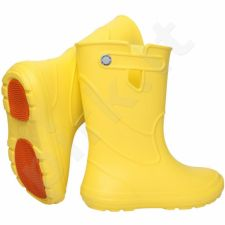 Geltoni, lengvi guminiai batai 30-37 d.CAMMINARE JUNIOR