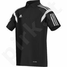 Marškinėliai futbolui polo Adidas Condivo 14 Junior F76960