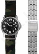 Laikrodis CASIO SPECIAL MTP-1260PD-1 SET 2 STRAPS  MTP-1260PD-1_CAMO