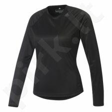 Marškinėliai treniruotėms Adidas Designed 2 Move Longsleeve W BK2718