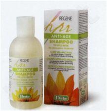 REGENE SCIAMPO NUTRI-VOLUMIZZANTE,  Stabdantis plaukų senėjimo procesą maitinamasis, suteikiantis apimtį šampūnas su argano, saulėgrąžų keramidų,  ženšenio šaknies aliejų ekstraktais, pro-vitaminu B5, 200 ml