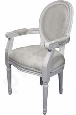 Balta kėdė su porankiais 66235