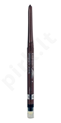 Rimmel London Exaggerate Smoke N Shine, akių kontūrų priemonė, kosmetika moterims, 0,28g, (004 Blue Steel)