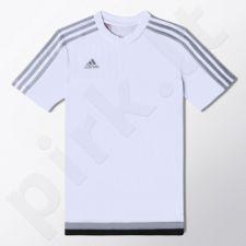 Marškinėliai futbolui Adidas Tiro15 Training Jersey Youth Junior S22314