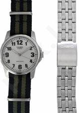Laikrodis CASIO SPECIAL MTP-1260PD-7 SET 2 STRAPS  MTP-1260PD-7_NATO