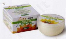 BALSAMO NUTRI-RIGENERANTE Stabdantis plaukų senėjimo procesą maitinamasis ir atstatomasis balzamas su argano aliejumi, taukmedžio sviestu, vitaminu E, 200 ml
