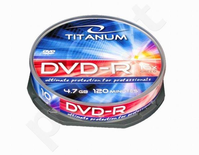 DVD-R TITANUM [ cake box 10 | 4.7GB | 16x ]