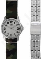 Laikrodis CASIO SPECIAL MTP-1260PD-7 SET 2 STRAPS  MTP-1260PD-7_CAMO
