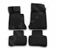 Guminiai kilimėliai 3D MERCEDES-BENZ GLK-Class X204 2014-2016, 4 pcs. /L46005