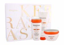 Kérastase Bain Satin 2 Irisome, Nutritive, rinkinys šampūnas moterims, (šampūnas 250 ml + plaukų kaukė 200 ml + Balm 150 ml)