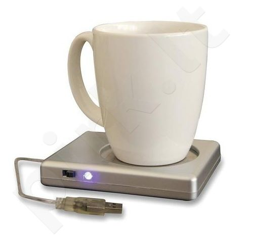 USB puodelio šildytuvas
