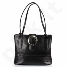 DAN-A T17 juoda rankinė iš natūralios odos , moteriška