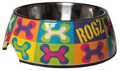 Rogz Dubenėlis Bowzl Large  Dog Pop 700ml