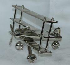 Aliuminio figurėlė-Lėktuvas 98606