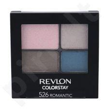 Revlon Colorstay 16 Hour akių šešėliai, kosmetika moterims, 4,8g, (526 Romantic)