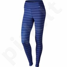 Sportinės kelnės Nike Legend Dri-FIT Cotton Tight Zig Dot W 725112-455