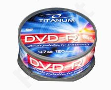 DVD-R TITANUM [ cake box 25 | 4.7GB | 16x ]