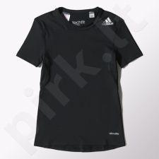 Marškinėliai termoayktyvūsadidas Techfit Base Tee Jr S27925