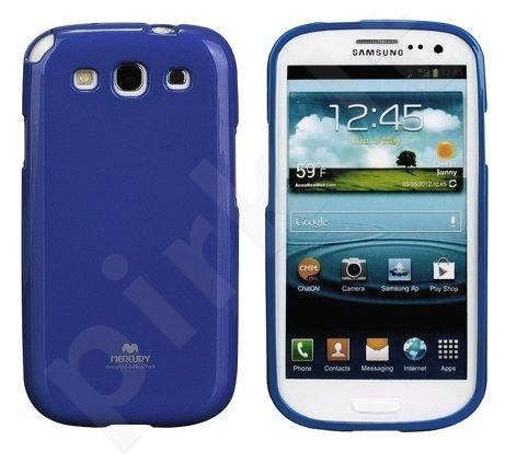 Samsung Galaxy Core dėklas JELLY Mercury mėlynas