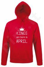 """Džemperis """"Kings are born"""" su Jūsų pasirinktu mėnesiu"""
