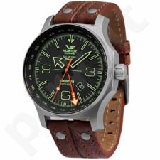 Vyriškas laikrodis Vostok Expedition North Pole-1 Dual Time 515.24H-595A501