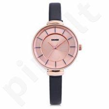 Moteriškas laikrodis SKMEI 1184CL Gold Case  Black