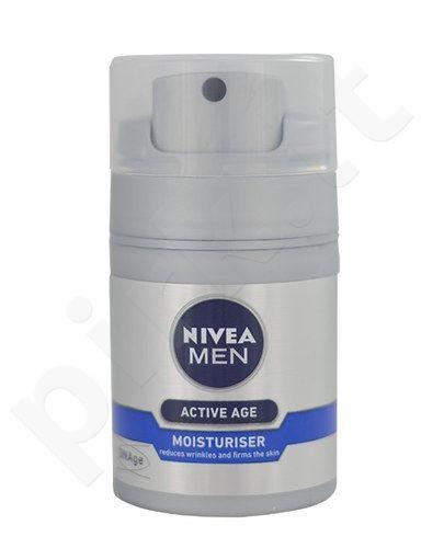 Nivea Men Active Age Moisturiser, kosmetika vyrams, 50ml