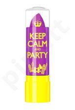 Rimmel London Keep Calm&Party Lip Balm, kosmetika moterims, 3,8g, (050 Violet Blush)