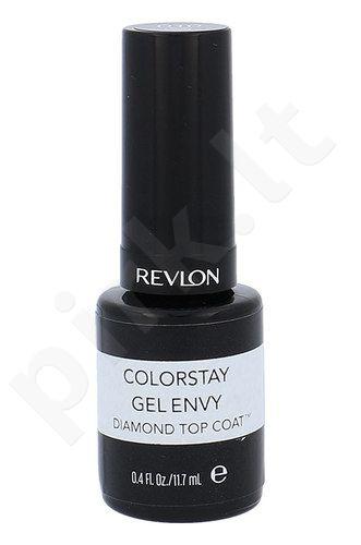 Revlon Colorstay Envy Diamond viršutinis nagų lako sluoksnis, kosmetika moterims, 11,7ml, (010 Top Coat)