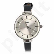 Moteriškas laikrodis SKMEI 1184CL Silver Case Black