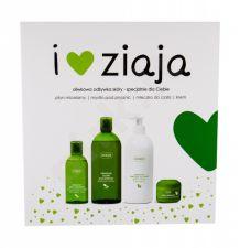 Ziaja Natural Olive, rinkinys dušo želė moterims, (dušo želė 500 ml + kūno losjonas 400 ml + dieninis kremas 50 ml + Micelar Water 200 ml)