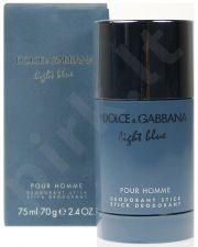 Dolce & Gabbana Light Blue Pour Homme, pieštukinis dezodorantas vyrams, 75ml