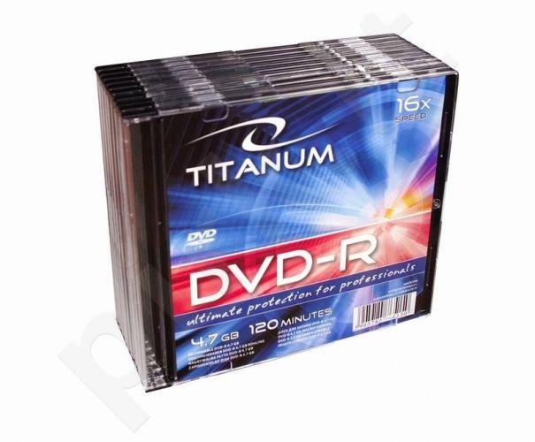 DVD-R TITANUM [ slim jewel case 10 | 4.7GB | 16x ]