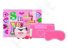 Moschino Pink Bouquet rinkinys moterims, (EDT 100ml + 100ml kūno losjonas + 10ml lūpdažis)