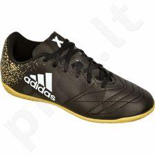 Futbolo bateliai Adidas  X 16.4 IN Leather Jr BB3815