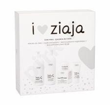 Ziaja Goat´s Milk, rinkinys dušo kremas moterims, (kremas Shower muilas 500 ml + kūno losjonas 400 ml + Daily Facial Care 50 ml + rankų kremas 50 ml)