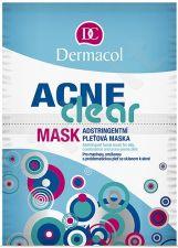 Dermacol AcneClear, veido kaukė moterims, 16g
