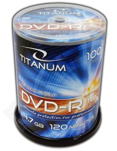 DVD-R TITANUM [ Cake Box 100 | 4,7GB | 16x ]