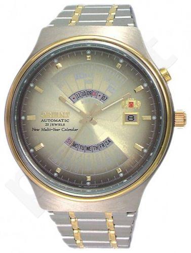 Vyriškas laikrodis Orient FEU00000UW