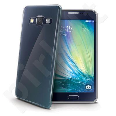 Samsung Galaxy A7 dėklas GELSKIN Celly permatomas